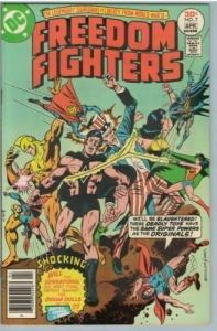 Freedom Fighters 7 Apr 1977 VF-NM (9.0)