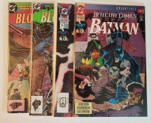 DC Batman Detective Comics #665, Annual 4, 6 + Shadow of the Bat Annual 1 (4) NM