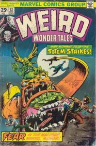 Weird Wonder Tales #13, VF- (Stock photo)
