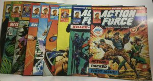 Action Force 1 2 3 4 5 6 7 8 9-33 35-48 Holiday Sp. Fn Fine 6.0 Marvel Magazine