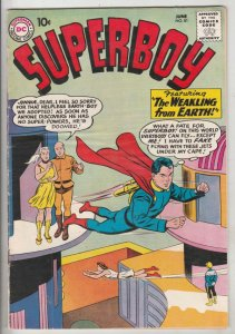 Superboy #81 (Jun-60) VF+ High-Grade Superboy