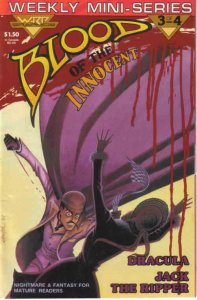 Blood of the Innocent #3 VF/NM; Warp | save on shipping - details inside