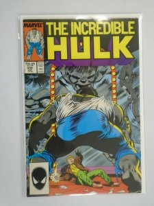Incredible Hulk #339 Direct edition 6.0 FN (1988 1st Series)