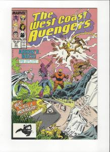 West Coast Avengers #31  NM