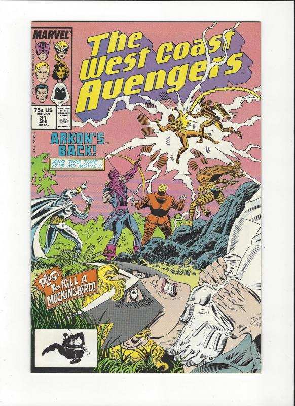 West Coast Avengers #31  NM