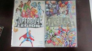 Superboy's Legion set:#1 & 2 8.0 VF (2001)