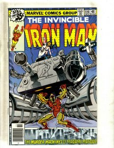 Iron Man # 116 NM Marvel Comic Book Avengers Hulk Thor Captain America J462