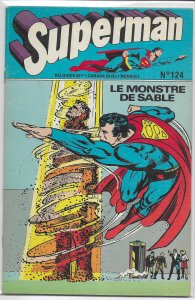 Superman  (French)   #124 FN (rep. Action 450+)