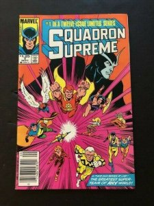 Marvel SQUADRON SUPREME #1 Greatest Super-Team F/VF  (PF980)