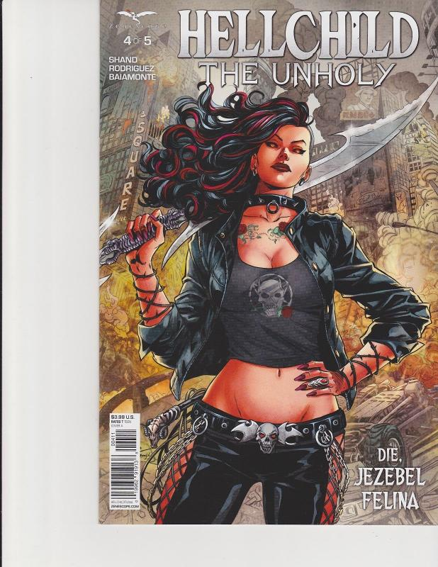 Hellchild The Unholy #4 Cover A Zenescope Comic GFT NM Malsuni