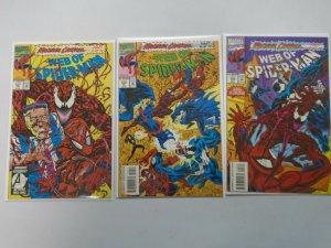Web of Spider-Man #101-103 8.0 VF (1993)