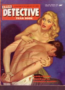 1950 DETECTIVE YEARBOOK -  TORTURE COVER BY RODEWALD VG/FN