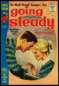 Going Steady Vol 3 #5 1960- Limited distribution Silver Age Romance VG+