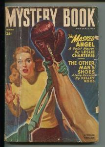 MYSTERY BOOK WINTER 1948-THRILLING-SKELETON COVER- PULP-MACDONALD-good
