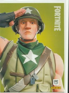 Fortnite Munitions Major 184 Rare Outfit Panini 2019 trading card series 1