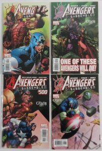 Avengers #500, 501, 502, 503 Lot of (4) Disassembled Storyline  ID#A87