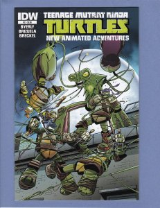 Teenage Mutant Ninja Turtles New Animated Adventures #2 NM