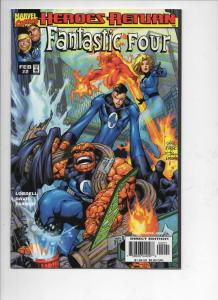 FANTASTIC FOUR #2, Vol 3, NM, Thing, Human Torch, 1998, more FF in store