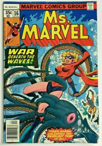 MS. MARVEL#16 FN/VF 1978 MARVEL BRONZE AGE COMICS
