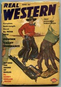 Real Western Pulp June 1944- Powder Valley Veneance VG/F