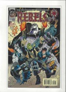 R.E.B.E.L.S Comics Lobo Legion DC Comics Unread NM