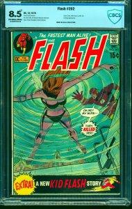 Flash #202 CBCS VF+ 8.5 Off White to White DC Comics