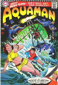 Aquaman 33  1st App Aqua-Girl (Tula)  Silver Age Key