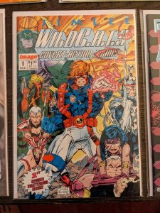 WildC.A.T.S: Covert- Action -Teams #1! 1st App and Origin! VF/NM
