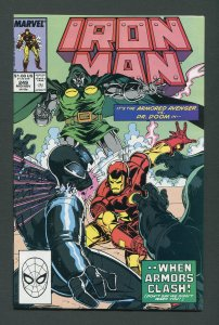 Iron Man #249 /  9.2 NM-   November 1989