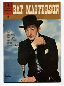 Bat Masterson #6 1960-Dell-Gene Barry TV photo-VF