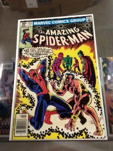 The Amazing Spider-Man 215 VF+ Needs Pressed (Marvel April, 1981)