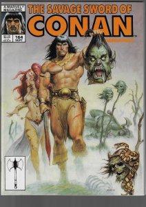 Savage Sword of Conan #164 (Marvel, 1989)
