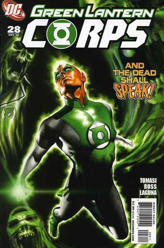 Green Lantern Corps (2nd Series) #28 VF/NM; DC | save on shipping - details insi