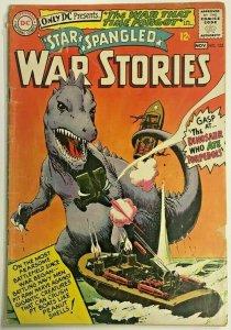 STAR SPANGLED WAR STORIES#123 VG 1965 DC SILVER AGE COMICS