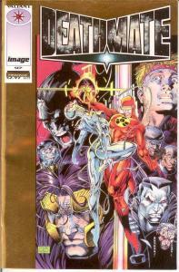 DEATHMATE (1993 IMAGE/VALIANT) PROLOGUE (GOLD CVR) F-VF COMICS BOOK