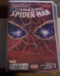 Amazing Spider-Man #  15 ( 2015, Marvel)  spider-verse epilogue, miles morales