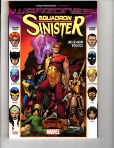 Squadron Sinister Marvel Comics TPB Graphic Novel Comic Book Warzones MF5
