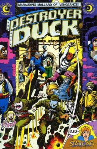 Destroyer Duck #4 VF/NM; Eclipse | save on shipping - details inside