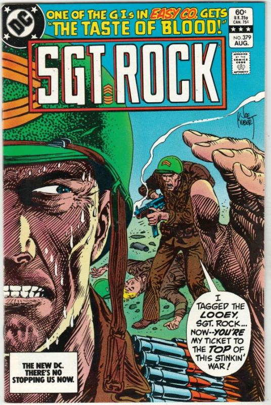 Sgt. Rock #379 (Aug-83) NM+ Super-High-Grade Sgt. Rock, Easy Co.