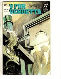 V For Vendetta # 6 NM 1st Print DC Comic Book Alan Moore David Lloyd J303