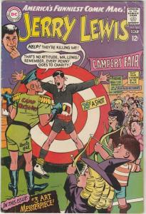 Jerry Lewis, the Adventures of #102 (Oct-67) VG+ Affordable-Grade Jerry Lewis
