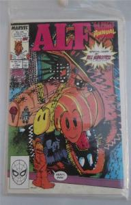 ALF #2 ANNUAL, NM-,Bill Sienkiewicz, Marvel, 1988 1989, more in store