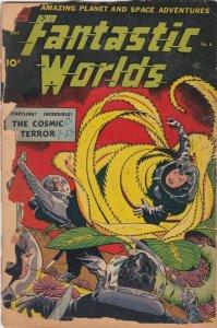 Fantastic Worlds 6 PR/FR Alex Toth Cover and Art (Standard Nov. 1952)