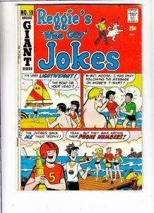 Reggie's Wise Guy Jokes #19 (Oct-71) FN Mid-Grade Reggie, Archie, Jughead