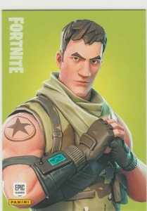 Fortnite Highrise Assault Trooper 128 Uncommon Outfit Panini 2019 trading card