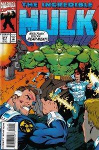 INCREDIBLE HULK (1962 Marvel Comics) #411 NM-
