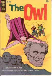 OWL (1967-1968 GK)   2 VG-F 1968 COMICS BOOK