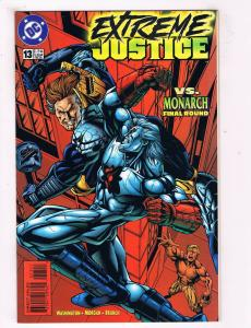Extreme Justice #13 VF DC Comics Comic Book Washington Feb 1996 DE39 AD12