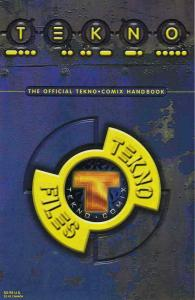 Tekno*Comix Handbook #1 VF; Tekno | save on shipping - details inside