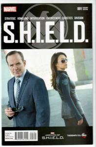 SHIELD #1 1:15 Photo Variant (Marvel, 2015) VF/NM